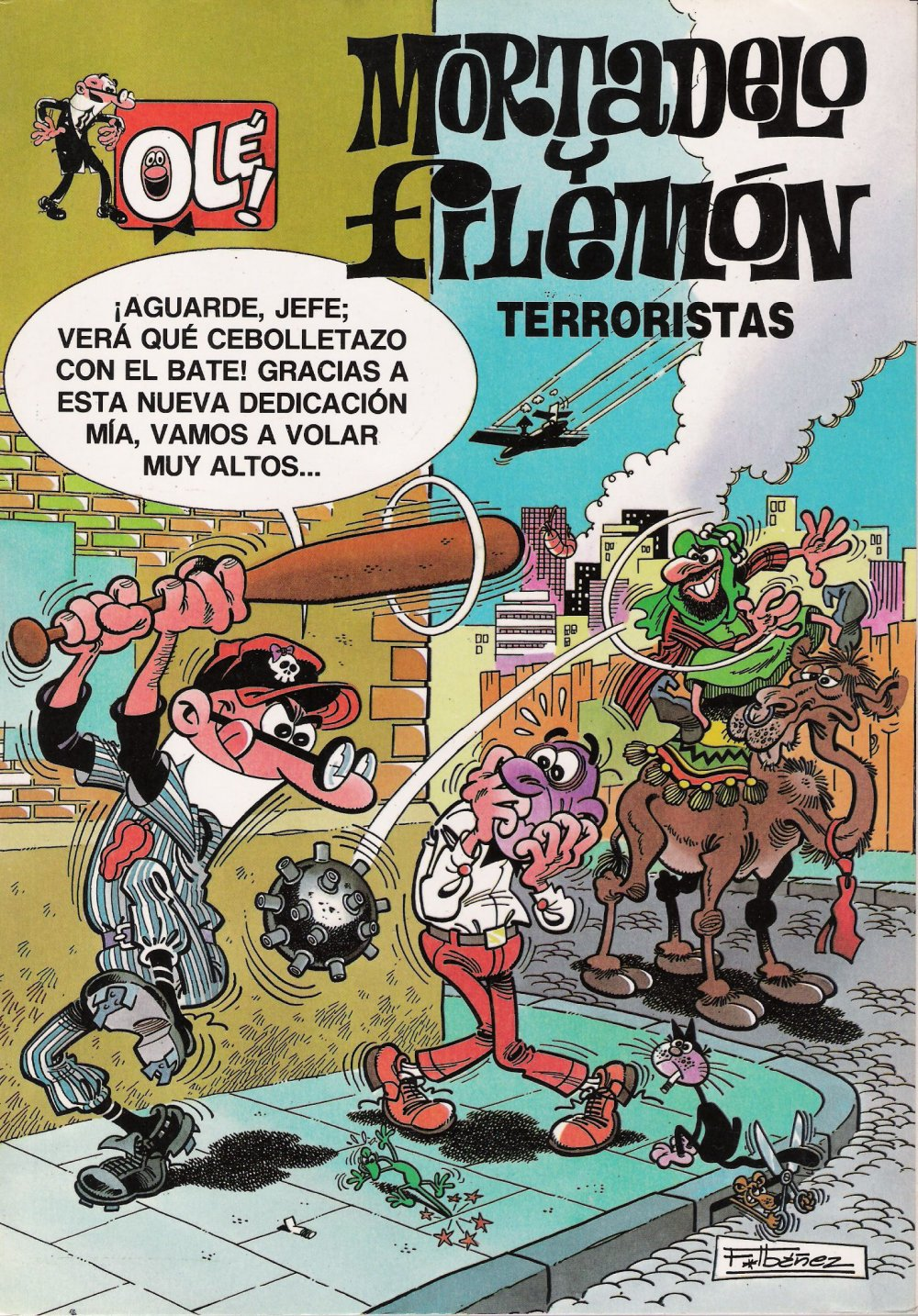 Terroristas - Mortadelo y Filemón