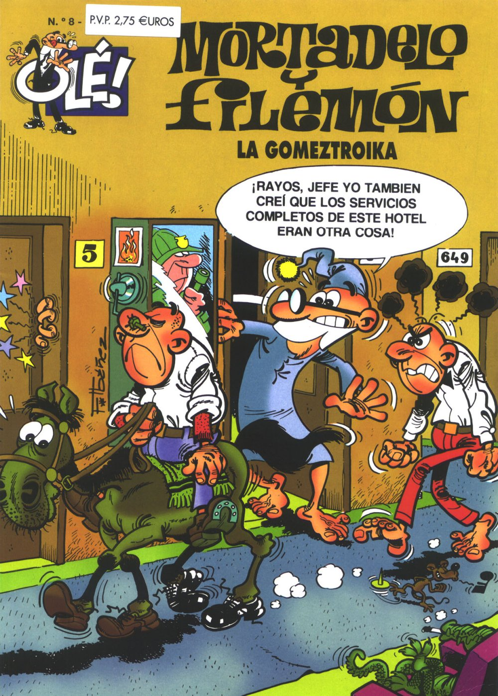 La Gomeztroika - Mortadelo y Filemón